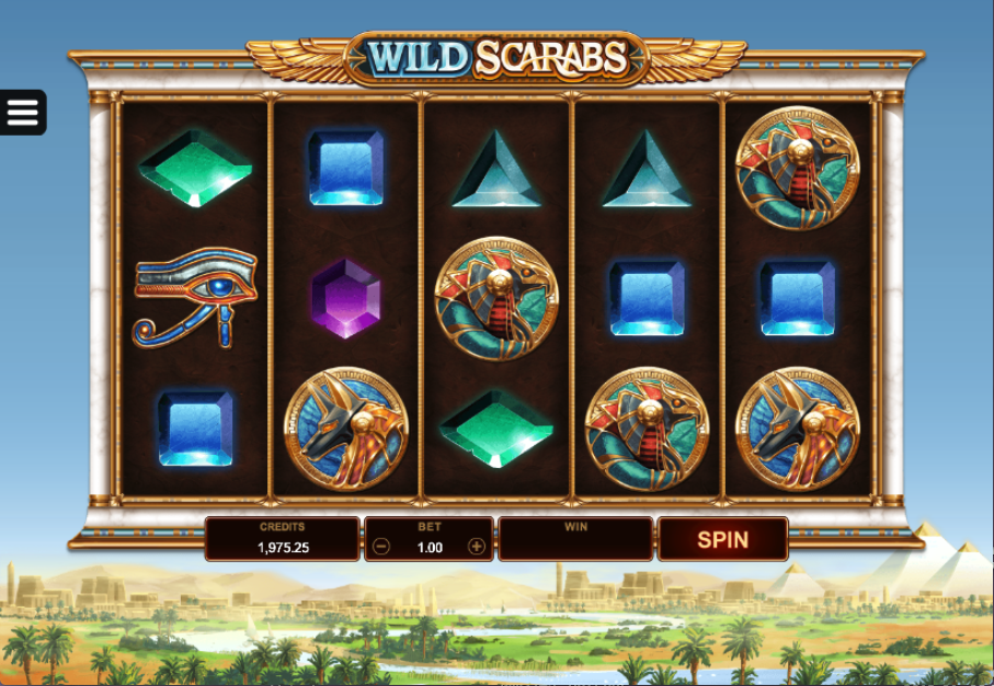 wild scarabs screenshot