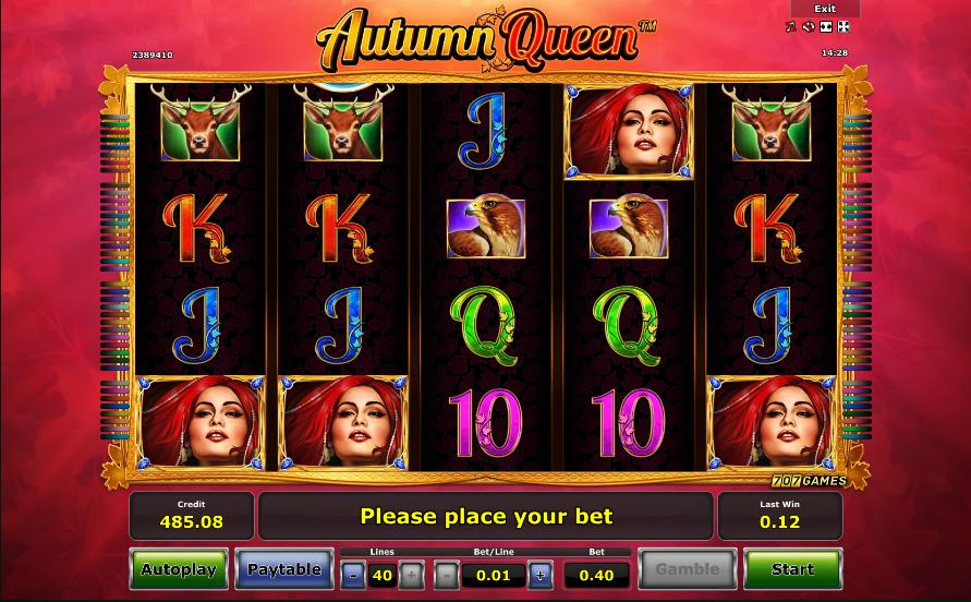 autumn queen screenshot