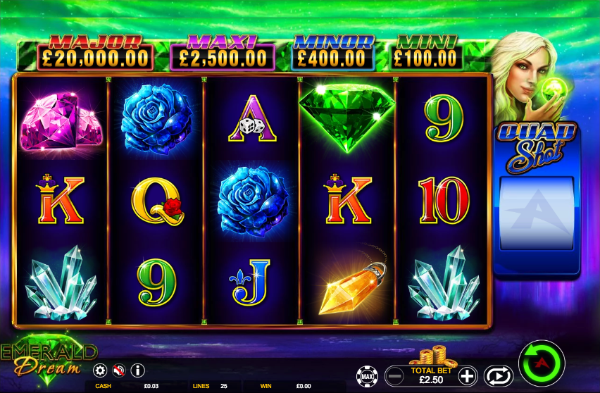 Spiele Emerald Dream - Video Slots Online