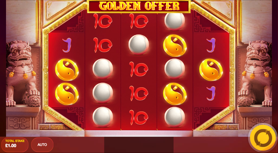 golden offer screenshot