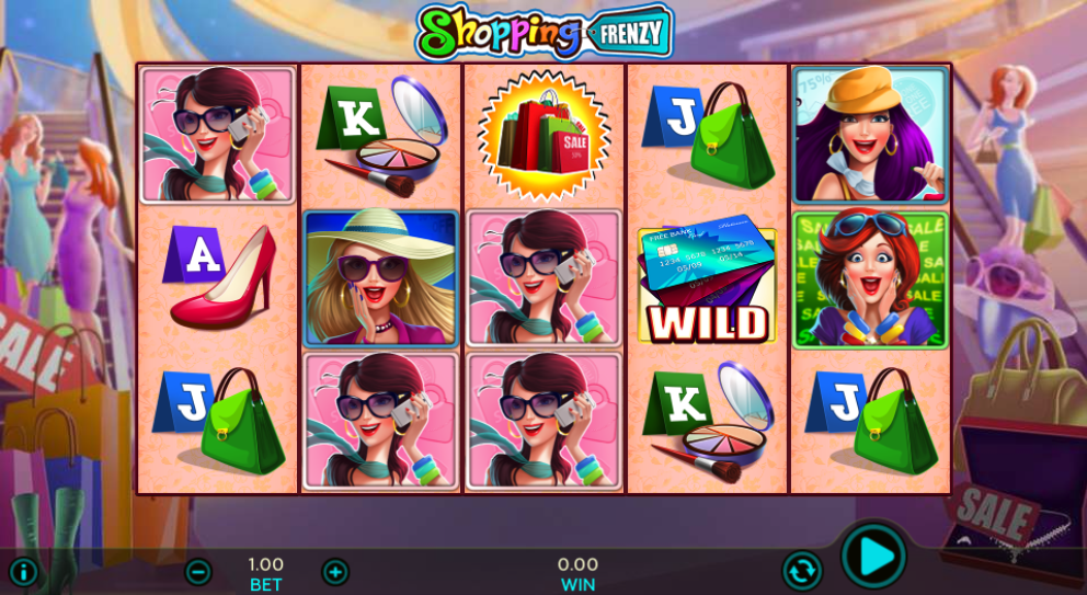 shopping frenzy screenshot