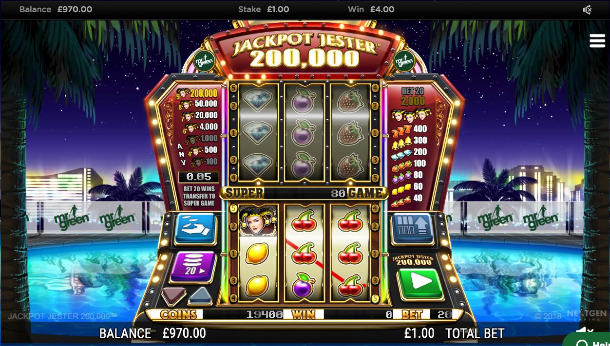 online casino jackpot jester