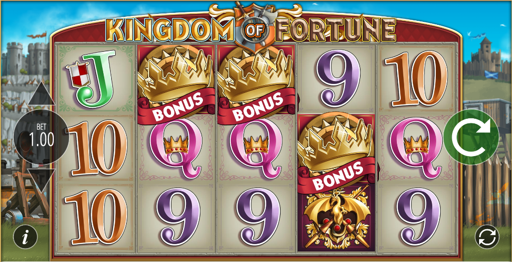 kingdom of fortune screenshot
