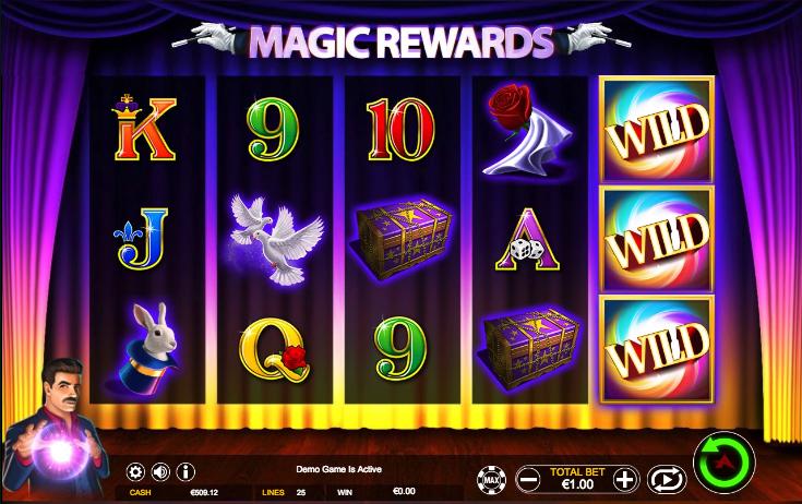 magic rewards screenshot