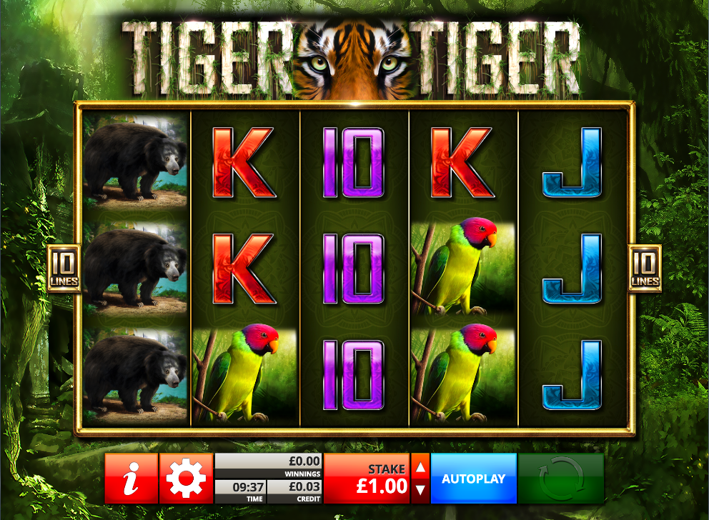 tiger tiger screenshot