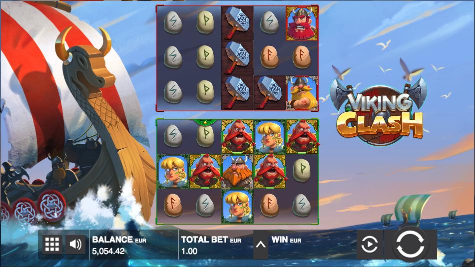 viking clash screenshot
