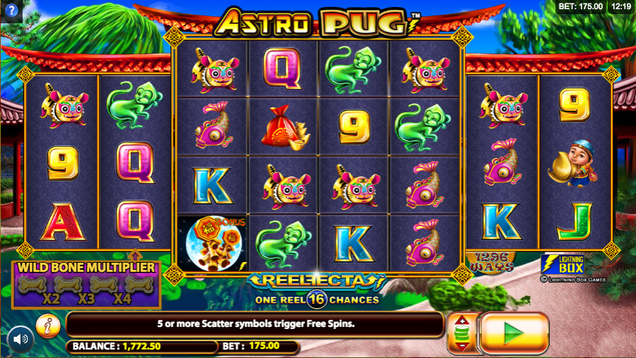 astro pug screenshot
