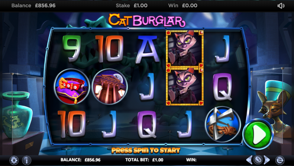 cat burglar screenshot