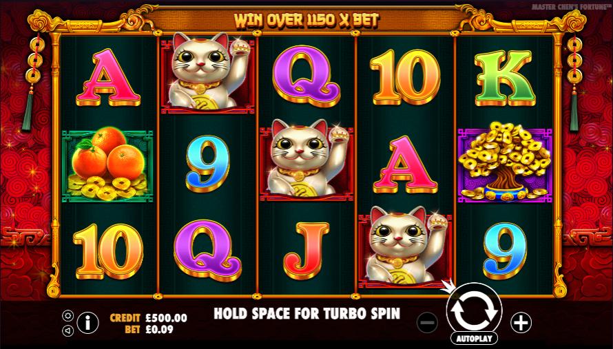 master chens fortune screenshot