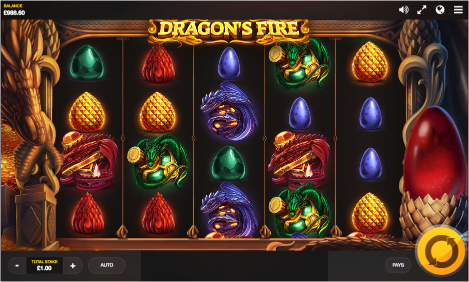 dragons fire screenshot