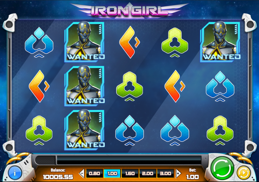 iron girl screenshot