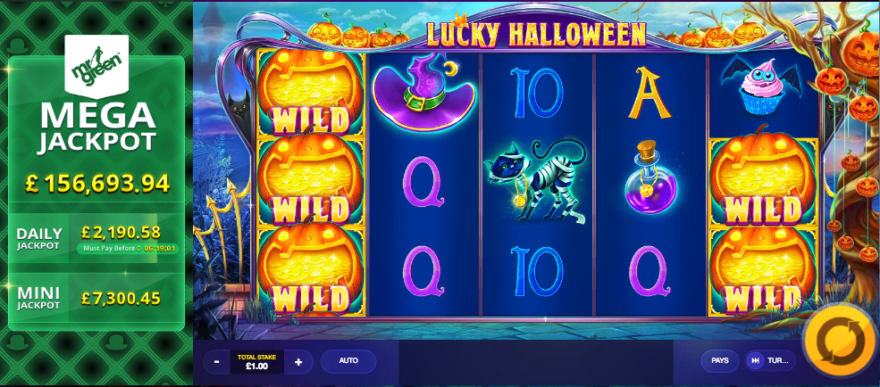 lucky halloween screenshot