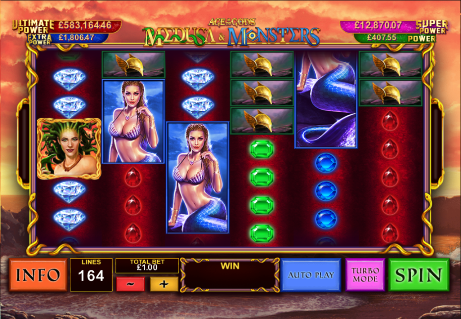 medusa & monsters screenshot