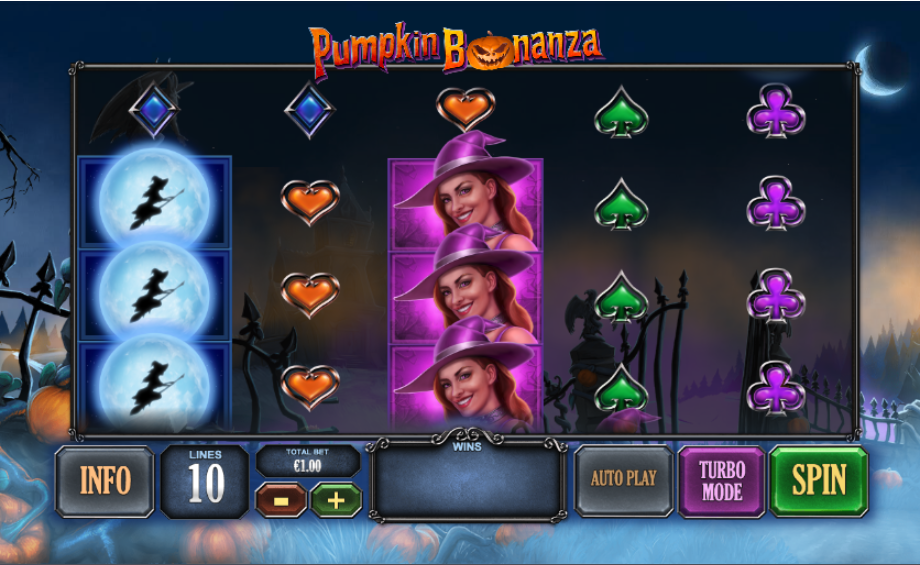 pumpkin bonanza screenshot