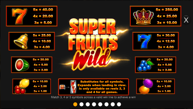 Spiele Super Fruits Wild - Video Slots Online