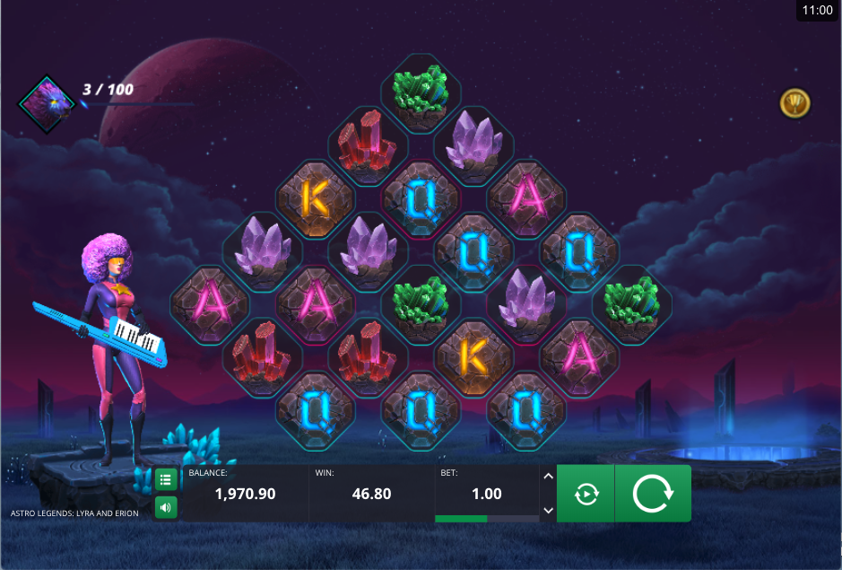 astro legends screenshot