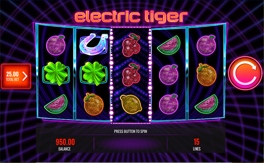 electric tiger screenshot