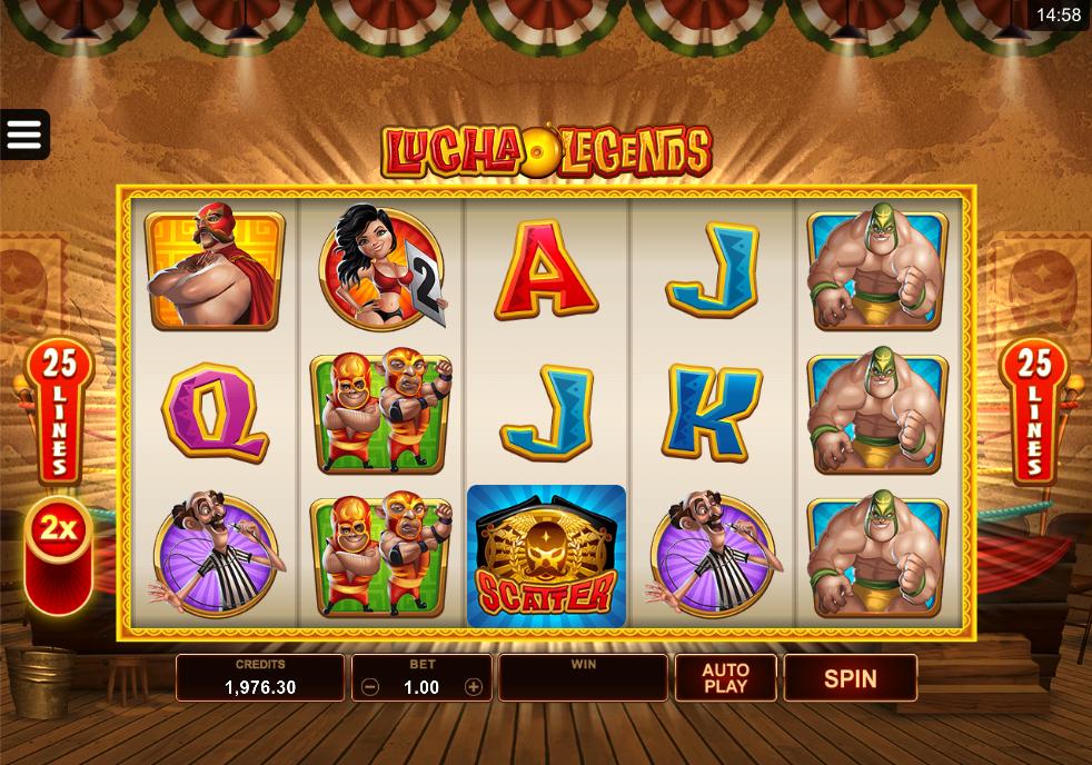 lucha legends screenshot