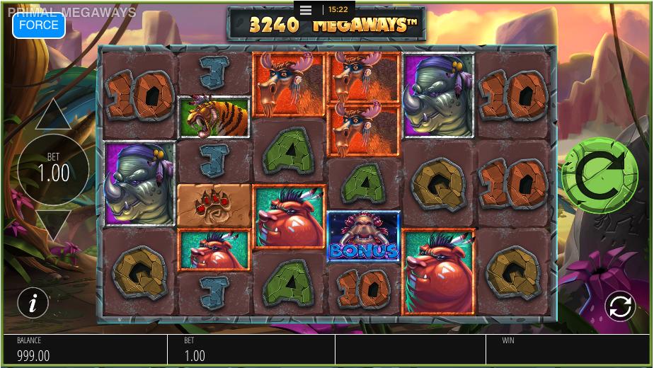 primal megaways screenshot