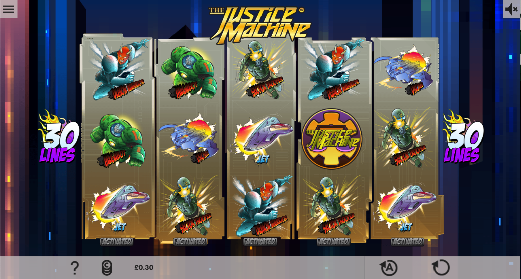 the justice machine screenshot
