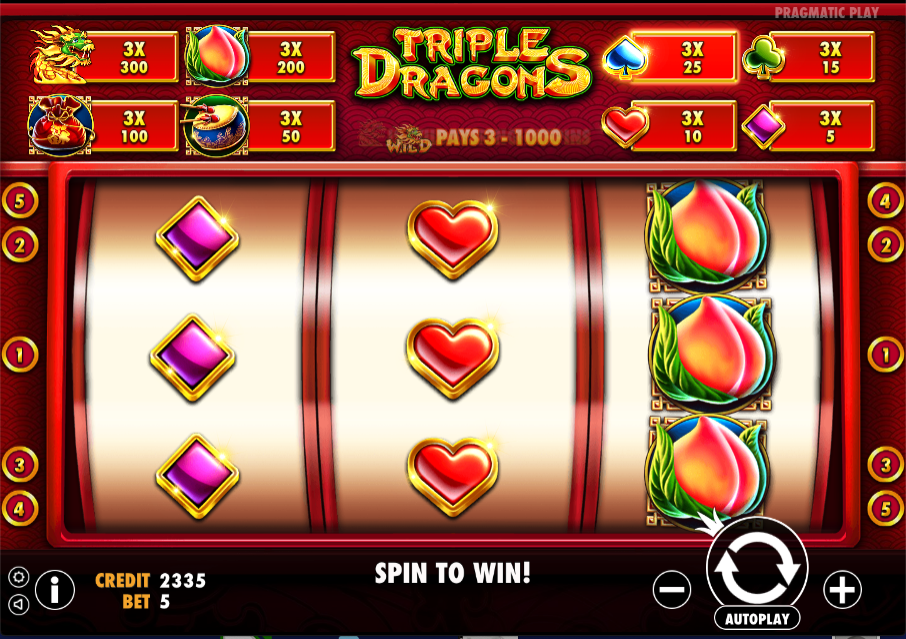 triple dragons screenshot