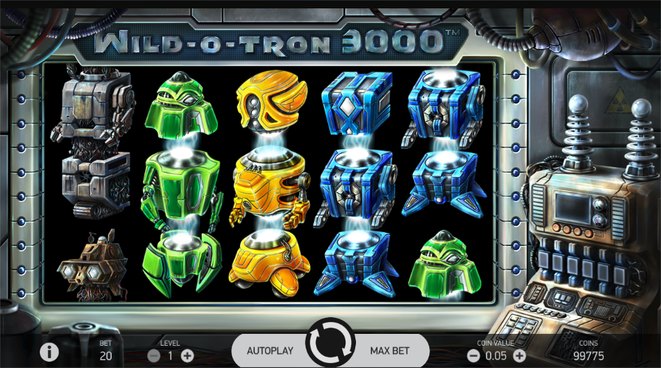 wild o tron 3000 screenshot