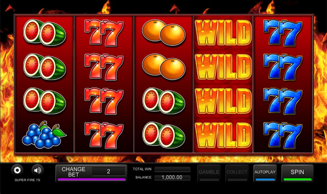 Spiele Super Fire 7s - Video Slots Online