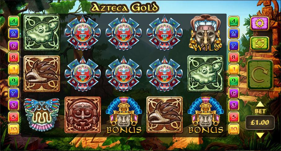azteca gold screenshot