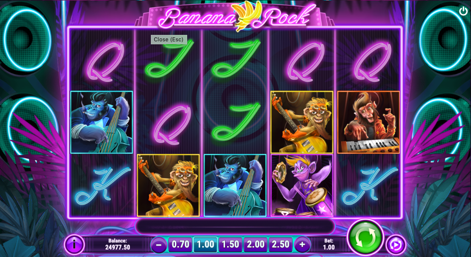 banana rock screenshot