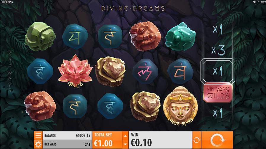 divine dreams screenshot