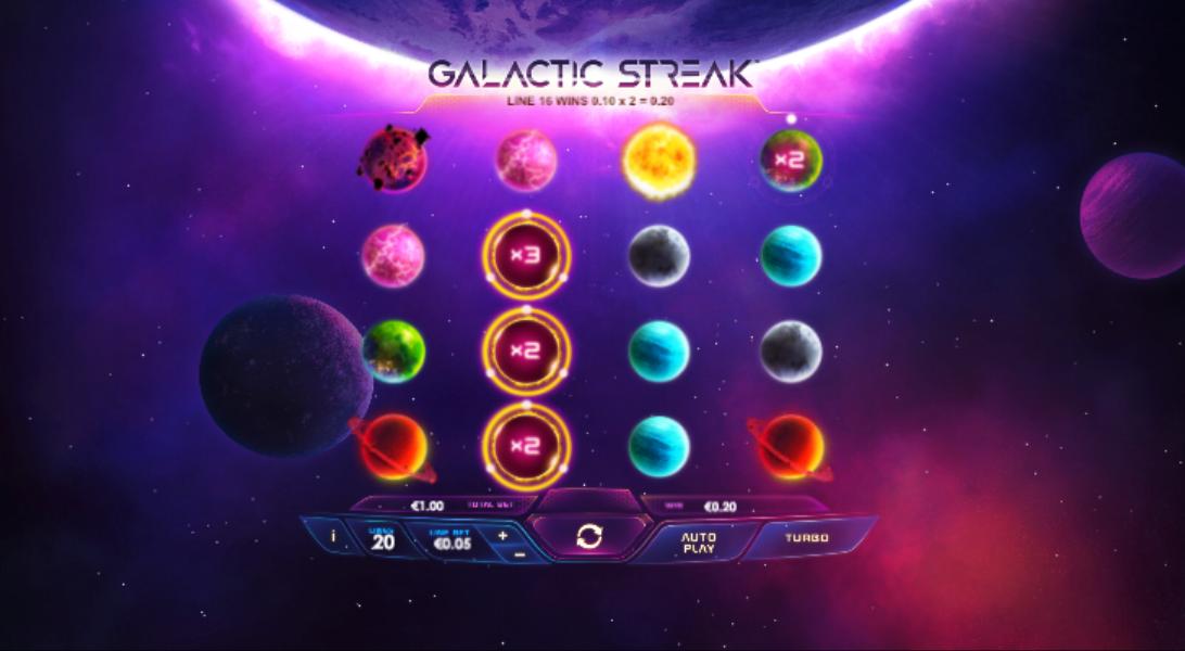galactic streak screenshot