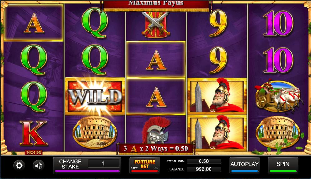maximus payus screenshot