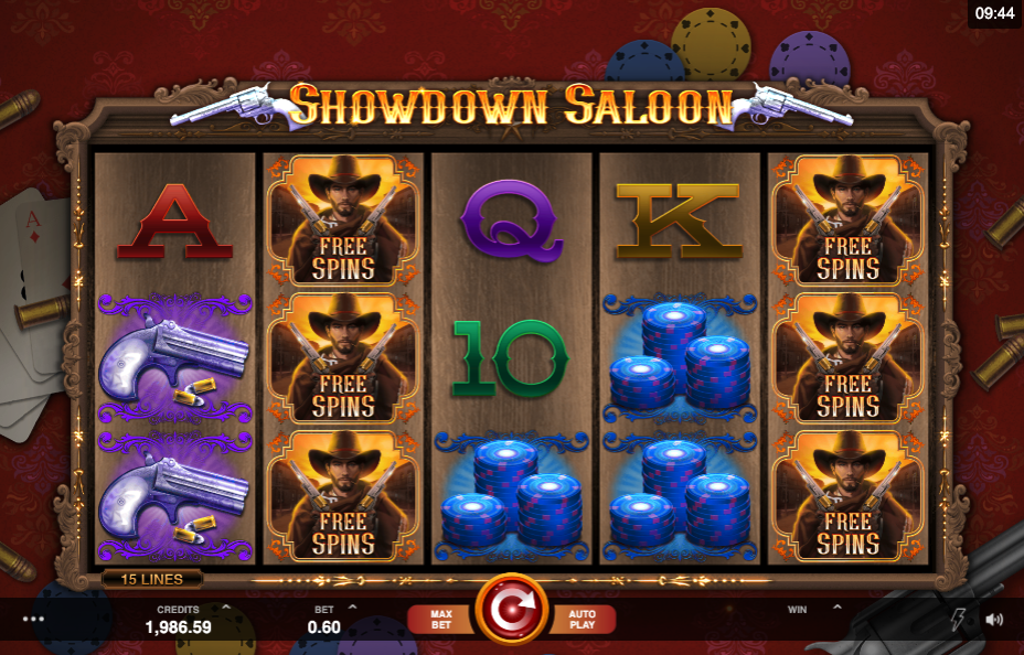 showdown saloon screenshot