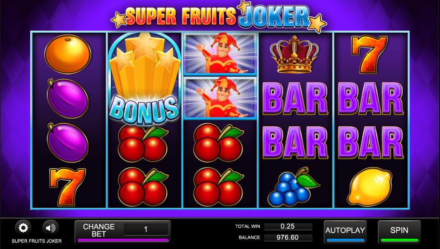 super fruits joker screenshot