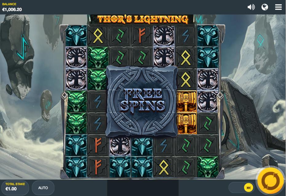 thors lightning screenshot
