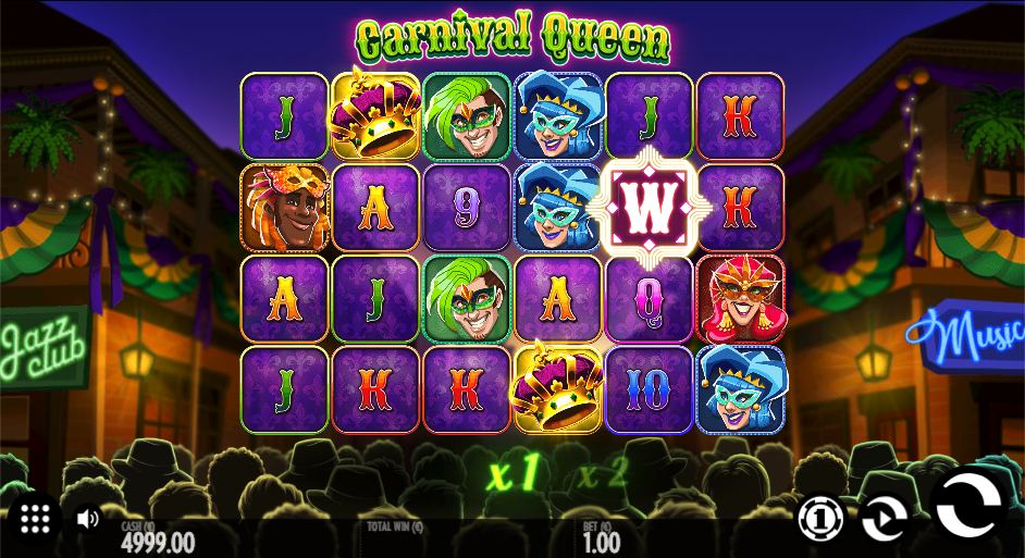 carnival queen screenshot
