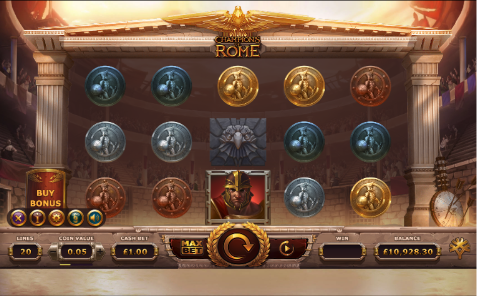champions of rome screenshot