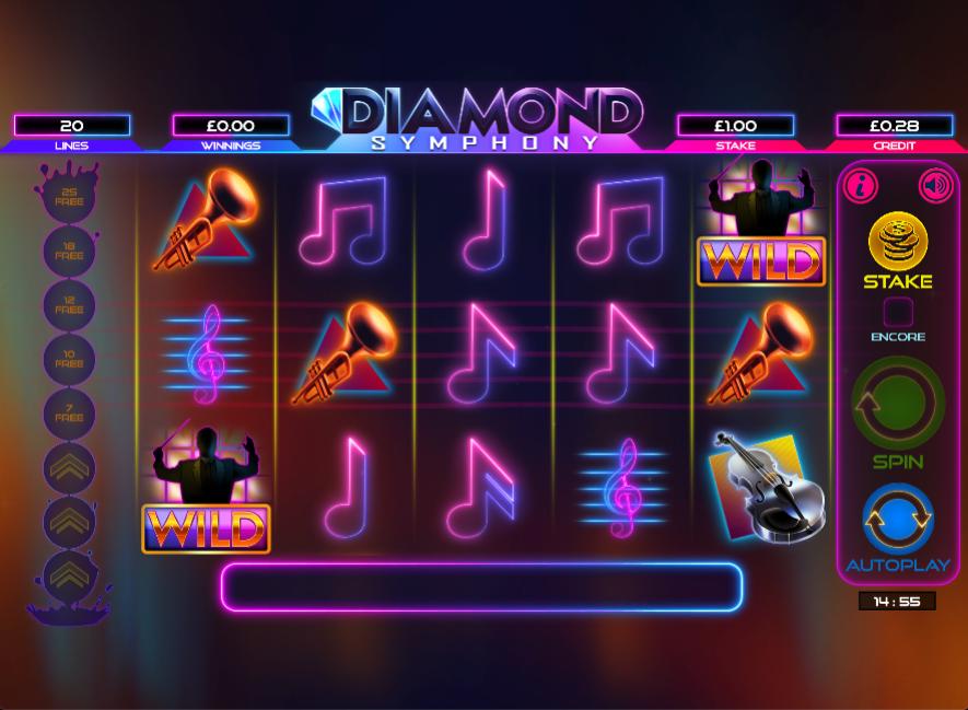 diamond symphony screenshot