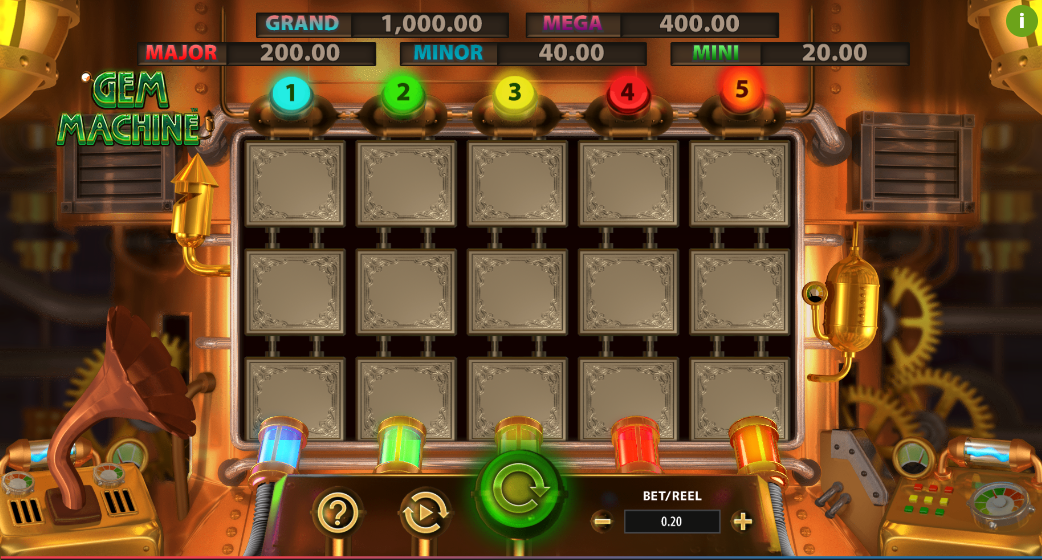 gem machine screenshot