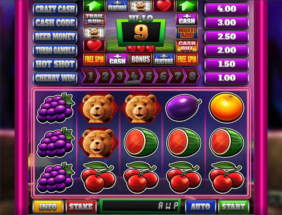 ted pub fruit screenshot