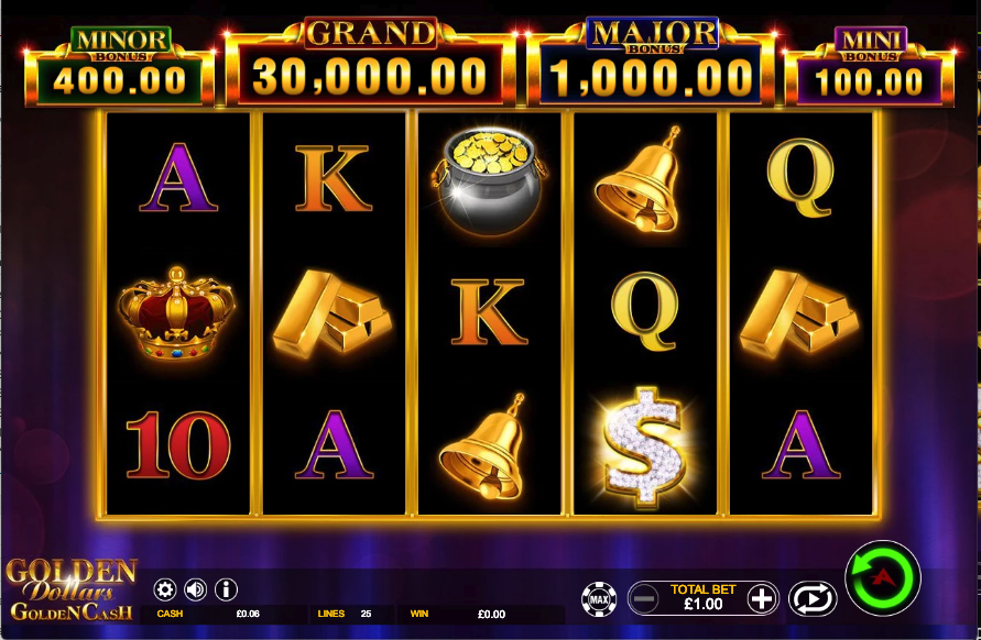 golden dollars screenshot