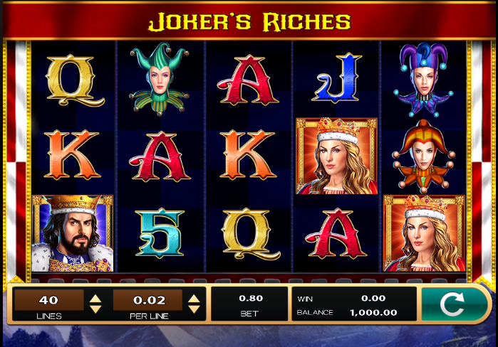 jokers riches screenshot