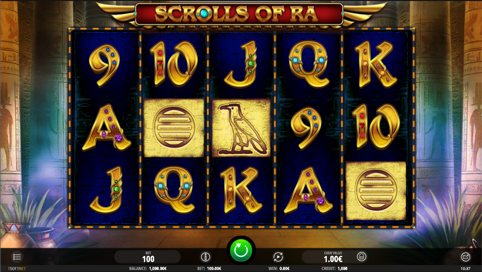 scrolls of ra screenshot
