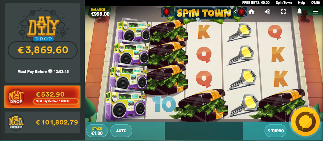 spin town screenshot