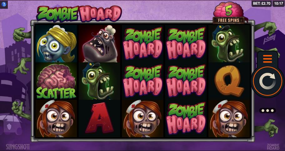 zombie hoard screenshot