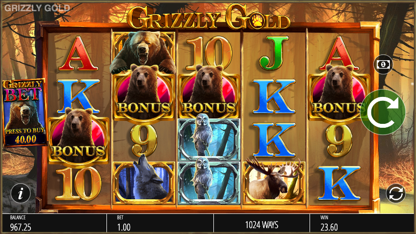 grizzly gold screenshot