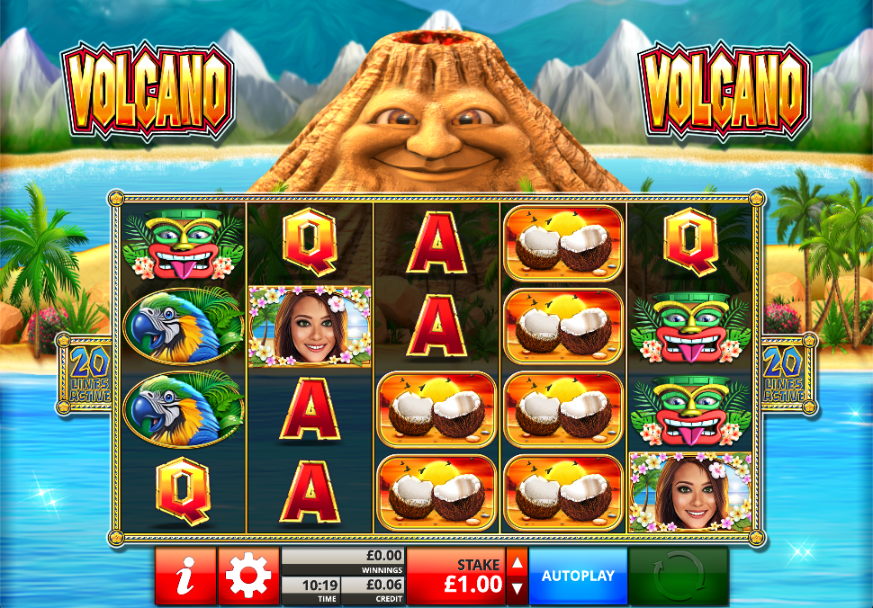 volcano screenshot