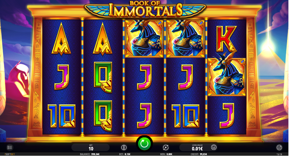 Spiele Book Of Immortals - Video Slots Online