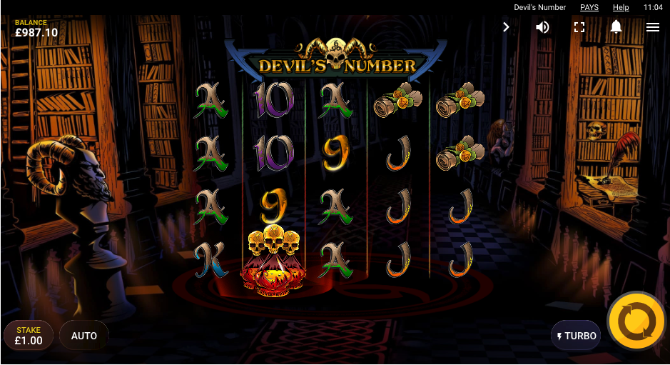 devils number screenshot
