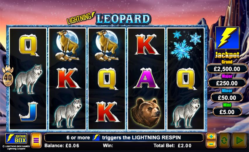 lightning leopard screenshot